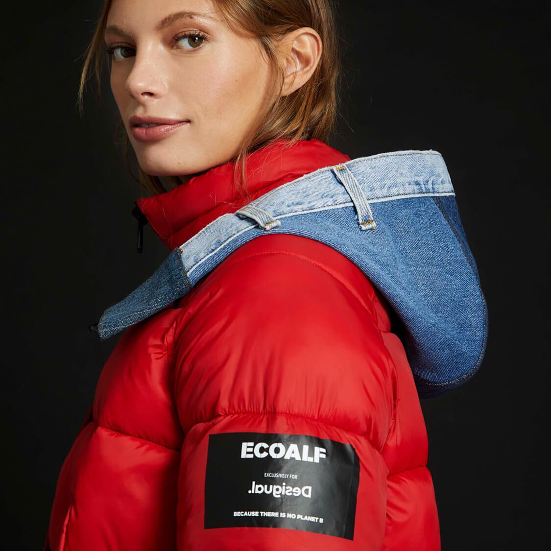 Recycle + Reinterpret + Reuse + Re-love = wrap up with Desigual ❤️ Ecoalf