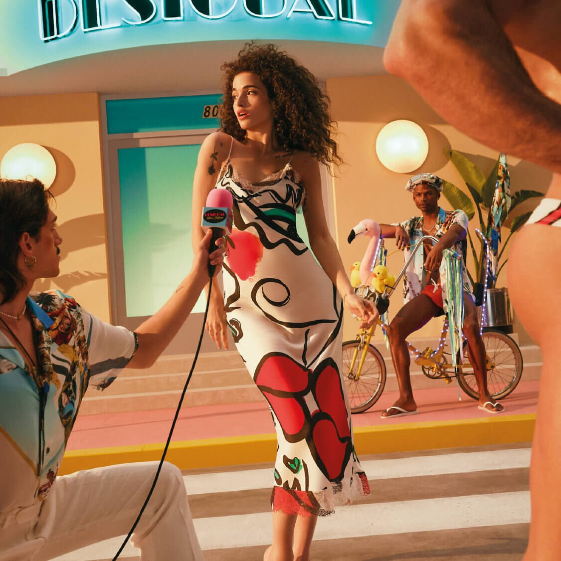 Desigual and Colombian Designer Esteban Cortázar Celebrate the Joy of Living with Their First Joint Collection.