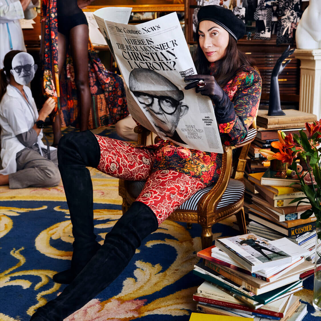 WHERE IS THE REAL MONSIEUR CHRISTIAN LACROIX?