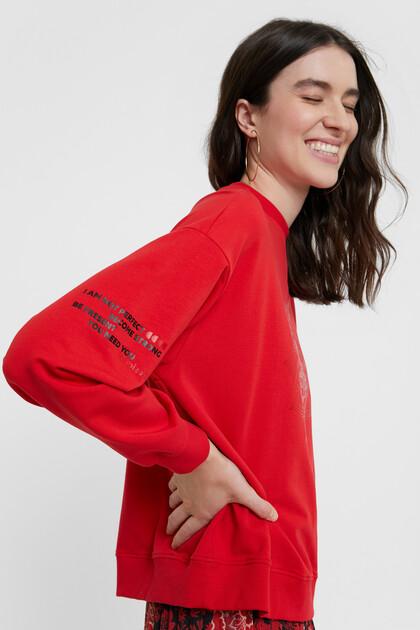 Sweat-shirt oversize mandala
