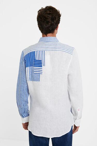 Camisa manga larga rayas | Desigual