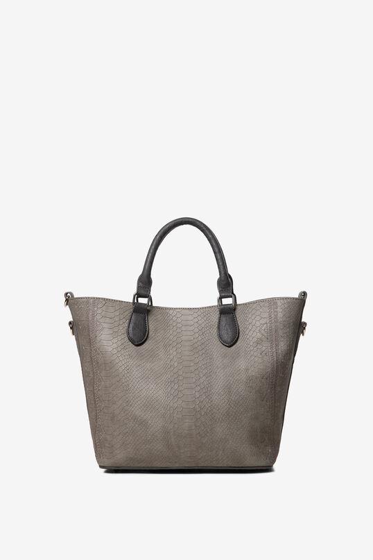 2 in 1 snakeskin-effect bag   Desigual