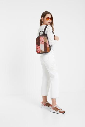 Boho backpack mandalas and flowers | Desigual