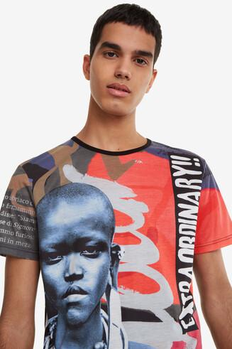 Masai Print T-shirt Edmund