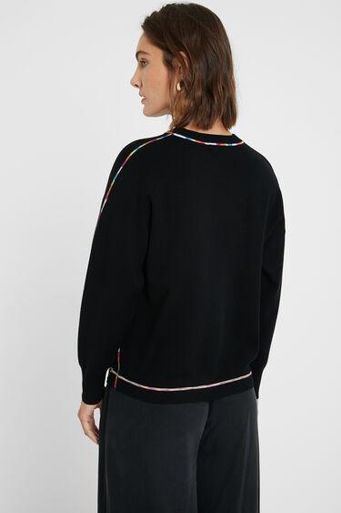 Rainbow jumper fine knit | Desigual