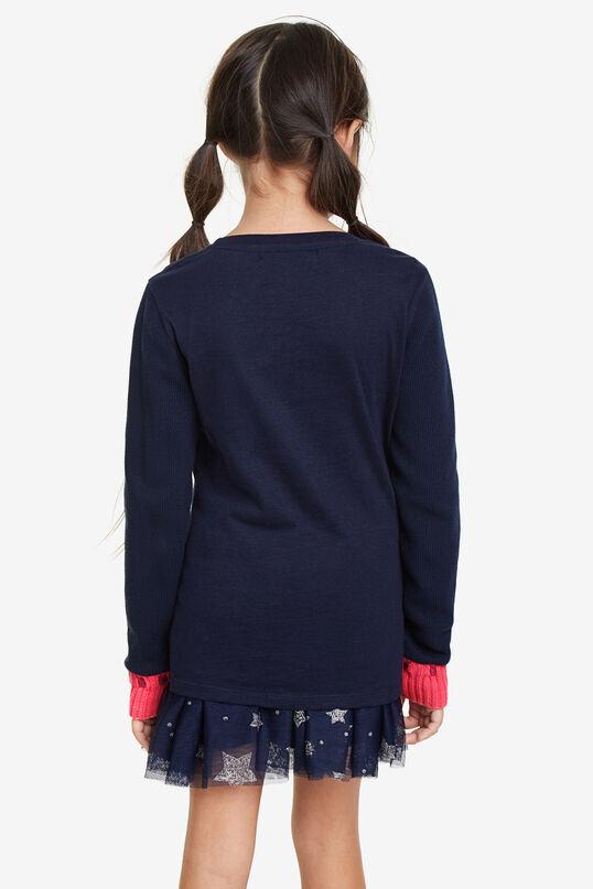 Basic T-shirt tricot cuffs | Desigual