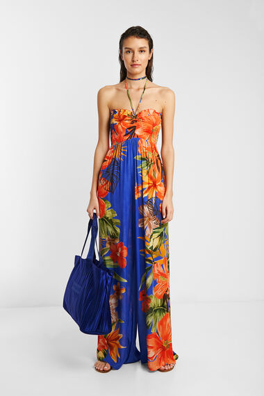 Palazzo jumpsuit eco floral