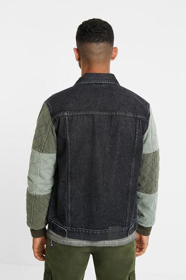 Jaqueta denim patch | Desigual