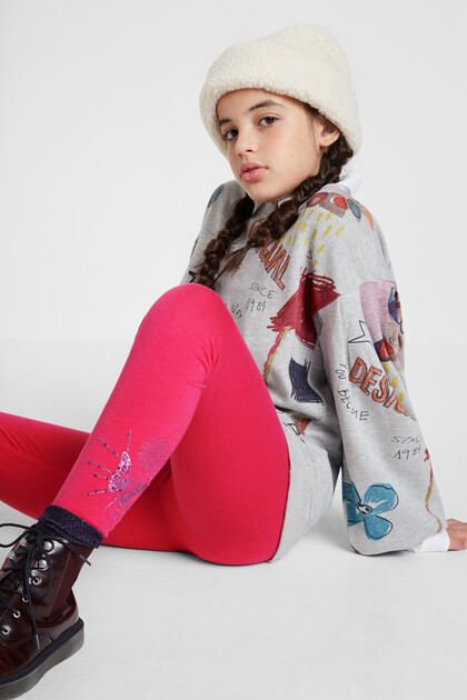Leggings bàsics print posicional