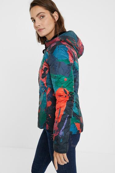 Reversible padded jacket | Desigual