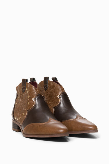 Cowgirl Winter Valkiria Ankle Boots | Desigual