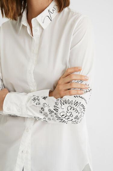 Camisa algodón regular | Desigual