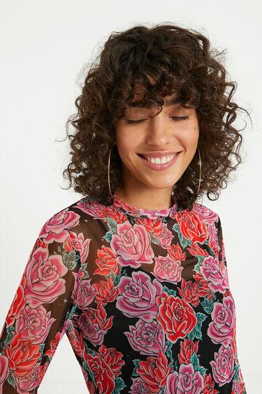 Slim floral T-shirt | Desigual