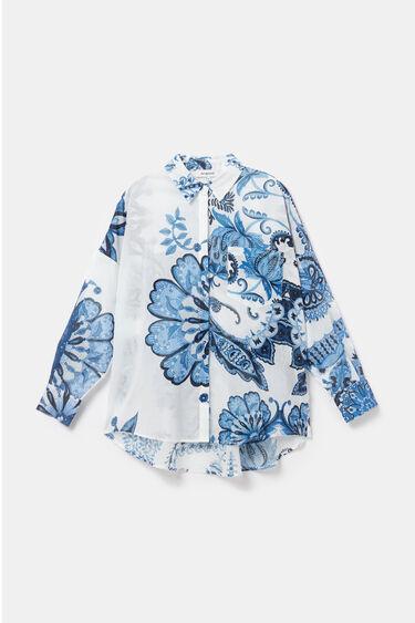 Oversized paisley shirt | Desigual