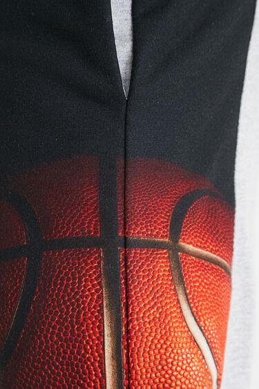 Plush basketball trousers | Desigual