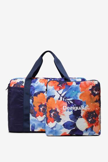 Gym Bag Matilde Camo Flower | Desigual