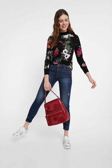 Slim floral T-shirt   Desigual