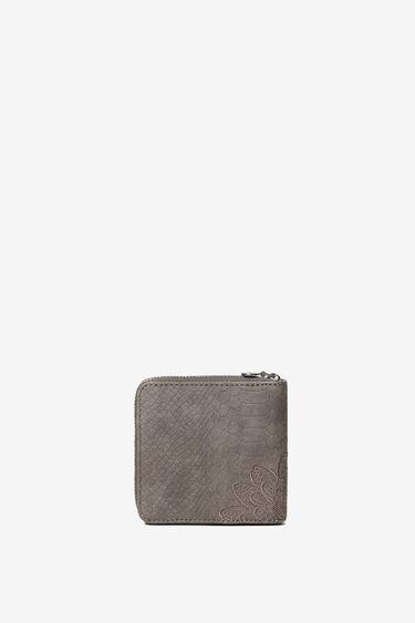 Coin purse mandalas reptile effect | Desigual