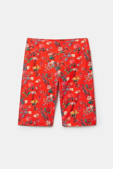 Floral cyclist leggings | Desigual