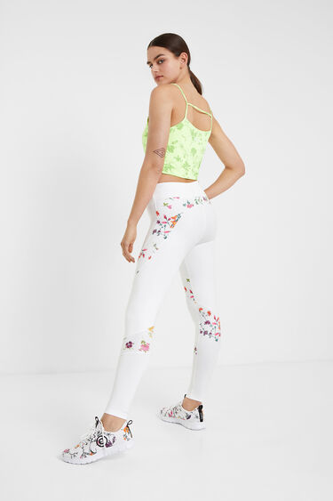 Leggings estampado floral | Desigual