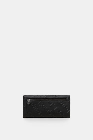Rectangular wallet logo relief | Desigual