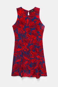 Robe courte imprimé fleuri | Desigual