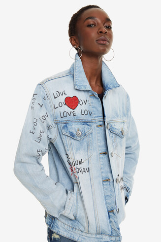 Denim Jacket Michigan
