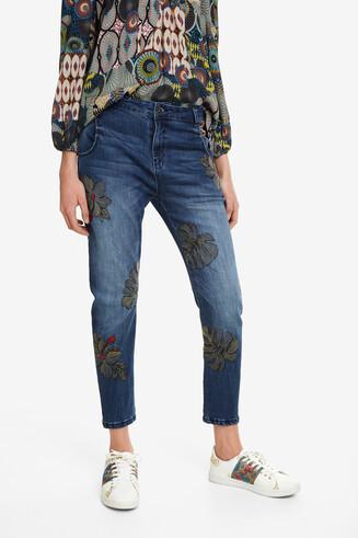 Boyfriend Ankle-Grazer Jeans Maui