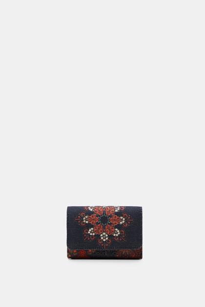 Canvas coin purse mandala