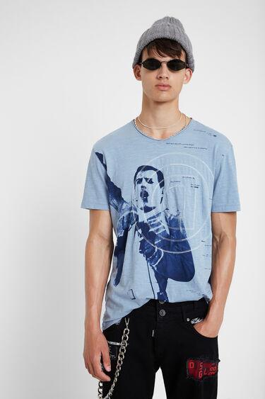 Blue cotton Freddy T-shirt | Desigual