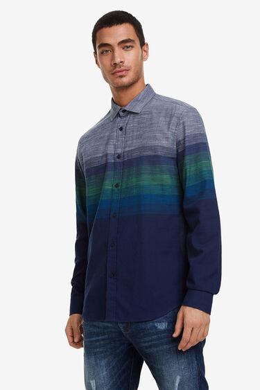Camisa regular degradat | Desigual
