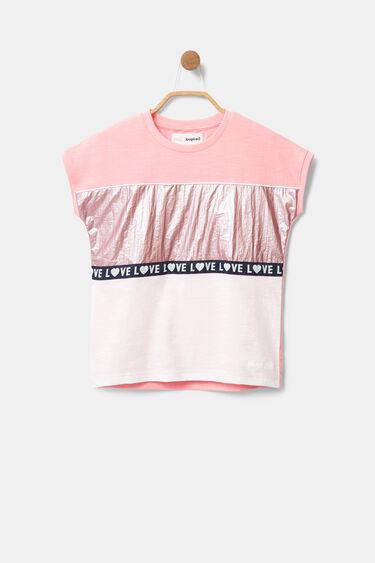 Horizontal bands T-shirt | Desigual