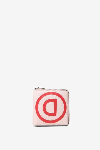Minimoneder de patch en logomania | Desigual