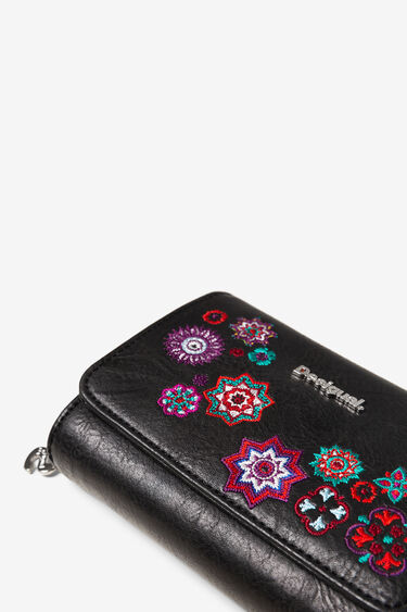 Small embroidered coin purse | Desigual