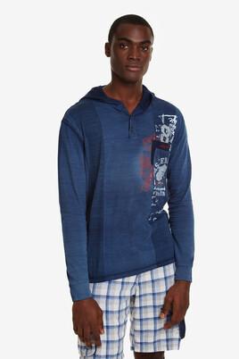 Hooded T-shirt Akar