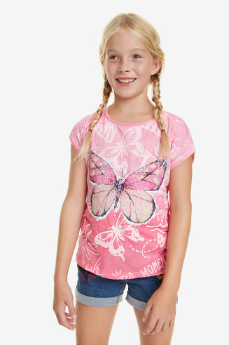 T-shirt Pink Ombré Juneau