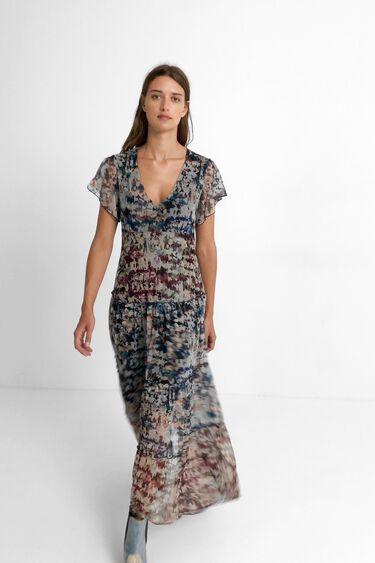 Robe longue camouflage | Desigual