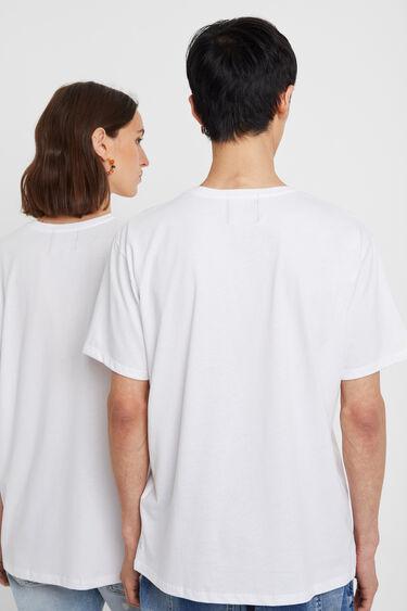 T-shirt met afbeelding vrouw | Desigual