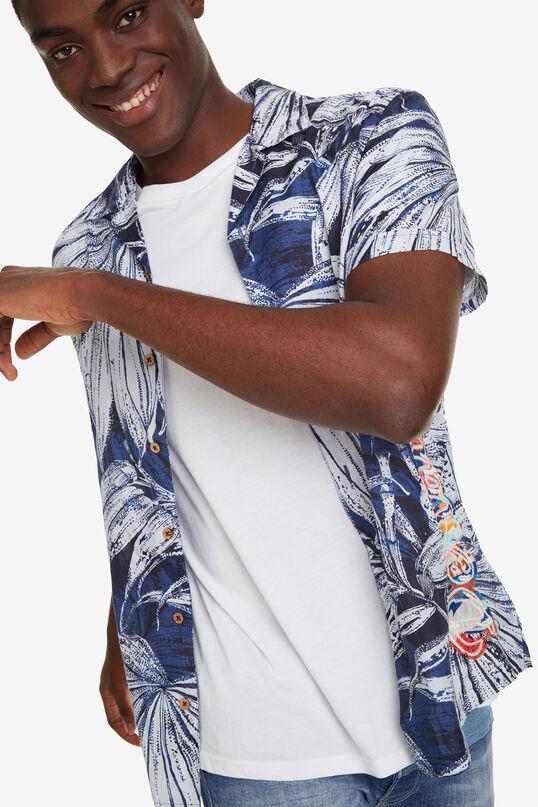 Tropical Leaves Shirt Austin | Desigual