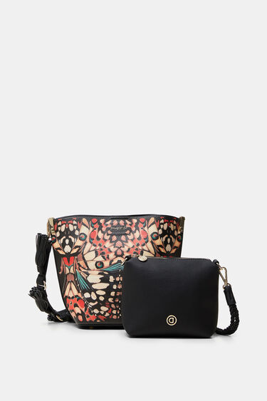 Butterfly crossbody bag | Desigual