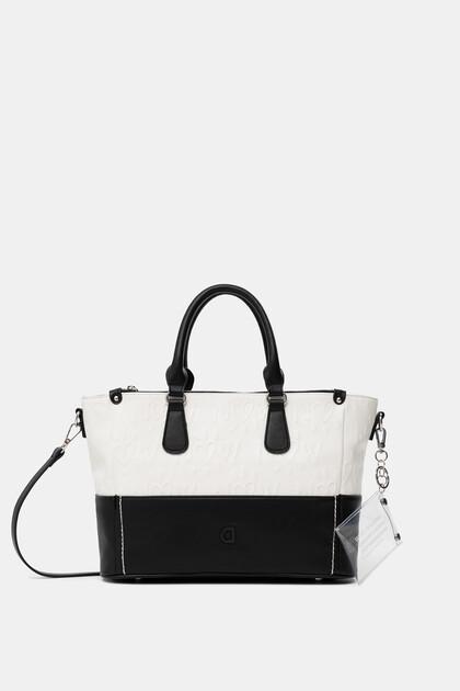 Bolso de mano Black&White