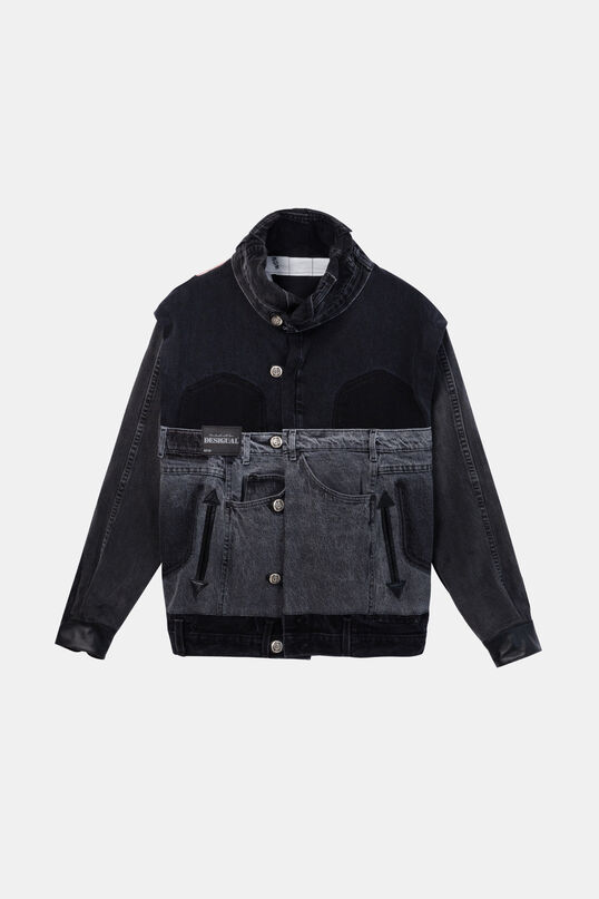 Iconic jacket «Una bomba de amor» | Desigual