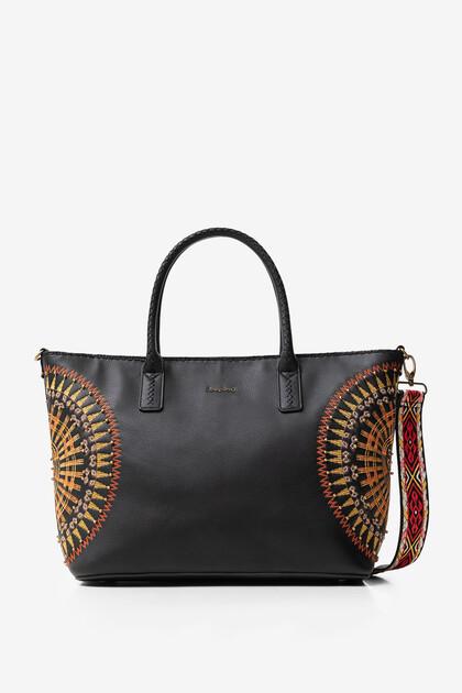 Duża torba z mandalą w stylu afrykańskim