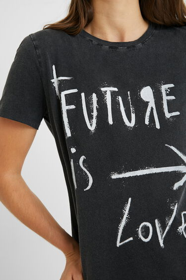 T-shirt short sleeve messages | Desigual
