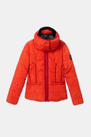 Gewatteerde jas met afneembare kraag | Desigual