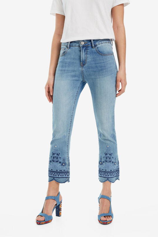 Ankle-Grazer Jeans Argos | Desigual