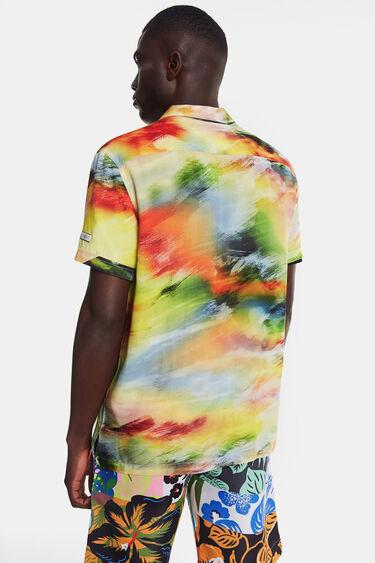 Camicia tramonto psichedelico | Desigual