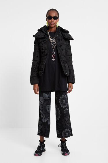 Padded turtleneck jacket | Desigual