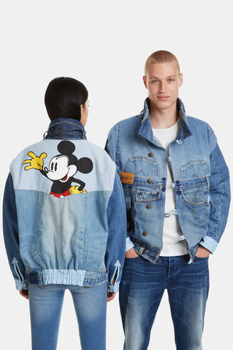 The Iconic Jacket Mickey Blue