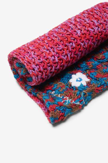 Tubular knitted scarf | Desigual